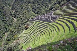 Winay Wayna Ruins on the 5 Day Inca Trail Trek