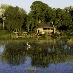 Jacana Camp - from the Delta