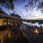 Linyanti Camp - Lounge & Campfire