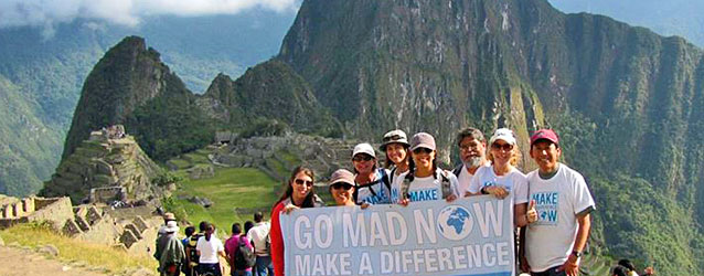 Machu Picchu with Make A Difference