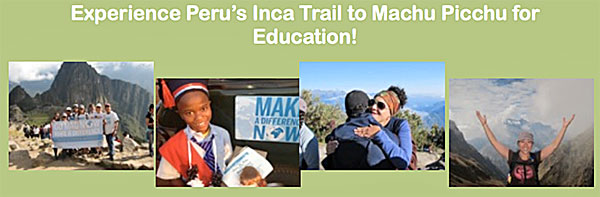 Inca Trail Trek with Make A Difference June 2015