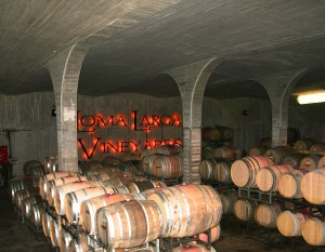 Loma Larga Vineyards Cave