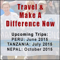 Charity trips with Make A Difference