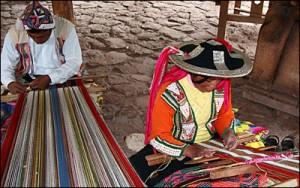 Weavers in the Sacred Valley