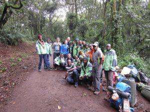 Climb Kilimanjaro in a group
