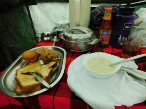 Meals on Kilimanjaro