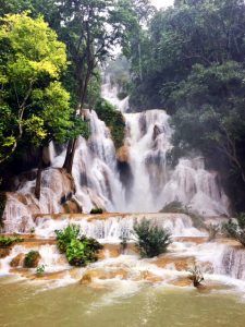 Waterfalls in Southeast Asia