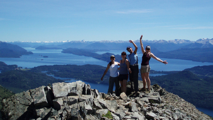4-Day Hike and Kayak Bariloche