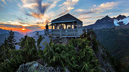 8-Day Washington Self-Drive Fire Lookout Adventure