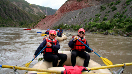 1-Day River Rafting Urubamba River near Cusco