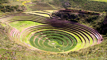 1-Day Maras Salt Mines and Moray near Cusco