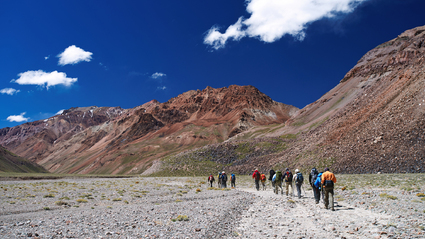 19-Day Aconcagua Vacas Valley