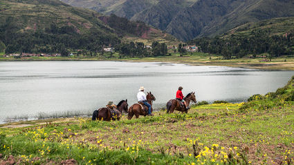 1-Day Horseback Riding in the Sacred Valley