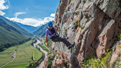 1-Day Via Ferrata and Zip Line: Sacred Valley, Cusco