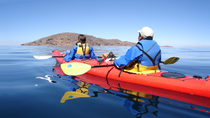 3-Day Sea Kayaking on Lake Titicaca / The Magic Triangle