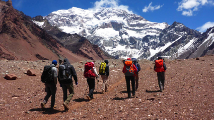19-Day Aconcagua False Polish or Traverse Route