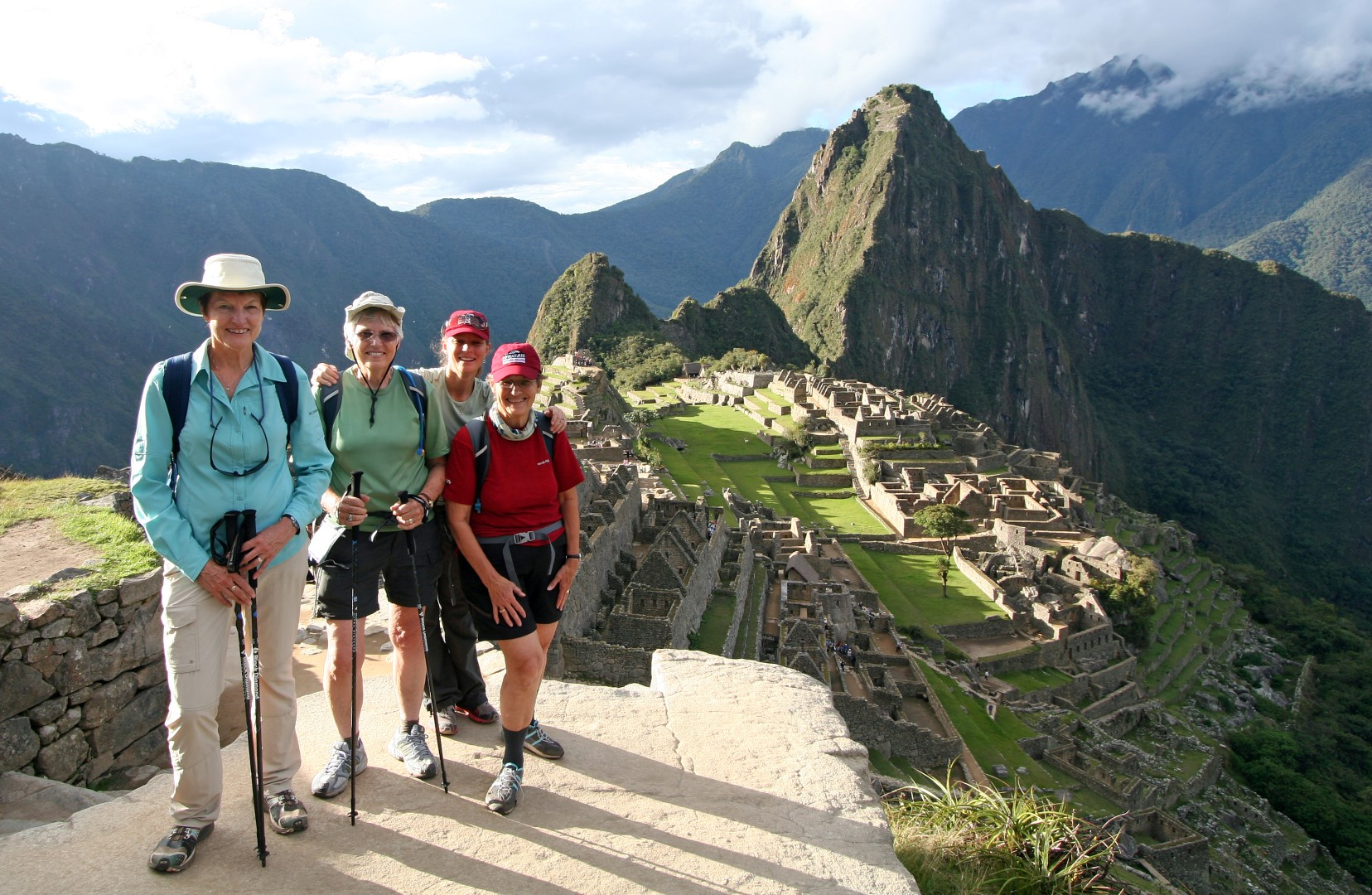 Hike or take a train to legendary Machu Picchu.