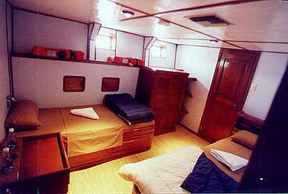 Galapagos Master Cabin