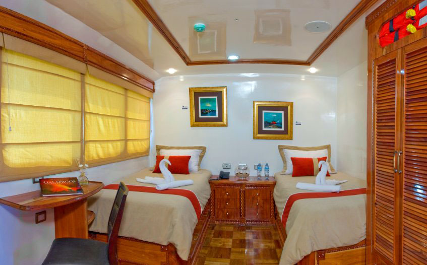 Galapagos Odyssey Cabin