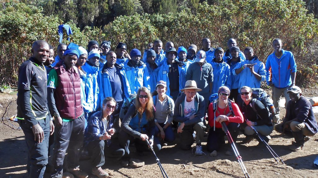 6-Day Machame Route (Group)